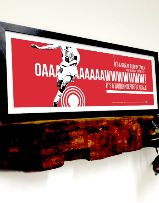 Only 50 prints available of this fantastic England memory!