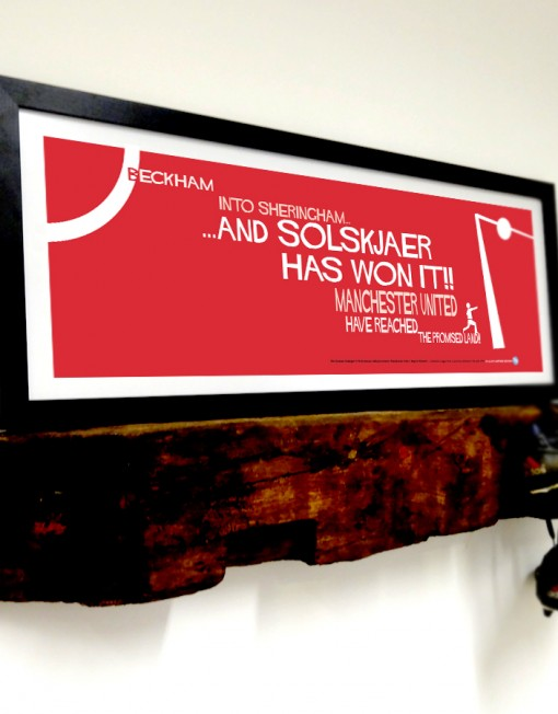 Our Solskjaer limited edition frame will look great anywhere.