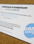 On the reverse of your limited edition framed print is an exclusive Authentication Certificate. Confirming your unique numbered print.
