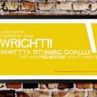 Nick Wright signed Watford print-goalhangers.co.uk